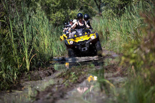 ATV-Quad Safari, 1 Person – 93 EUR, 2 Persons – 160 EUR
