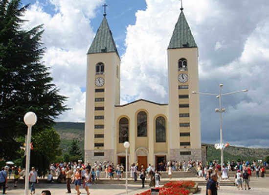 Group tour to Medjugorje from Dubrovnik / 49 EUR