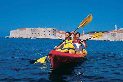 Old Town Walking Tour + Sea Kayaking + Snorkeling / 54 EUR