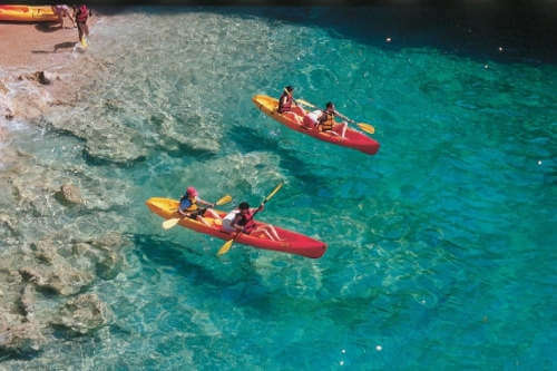 Sea Kayaking with transfer from Dubrovnik / 48 EUR