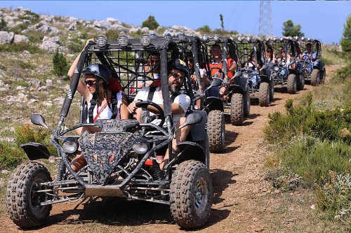 Buggy Safari & Cable Car from Dubrovnik / 56 EUR